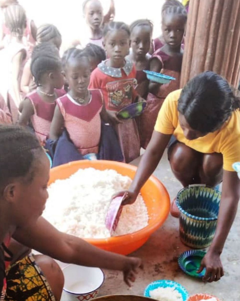 Lunchtime at Revive Christian School