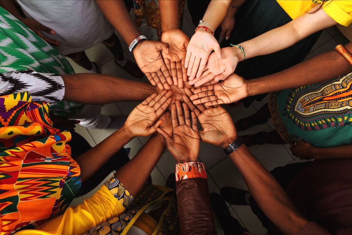Pursuing Unity in Ministry (hands together)
